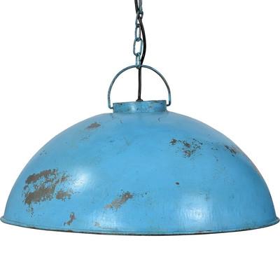 Deckenlampe antik blau chic24 vintage m bel und for Deckenlampe lang