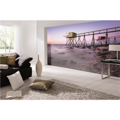 raumbilder tapeten fish cabins yellow chic24 vintage. Black Bedroom Furniture Sets. Home Design Ideas