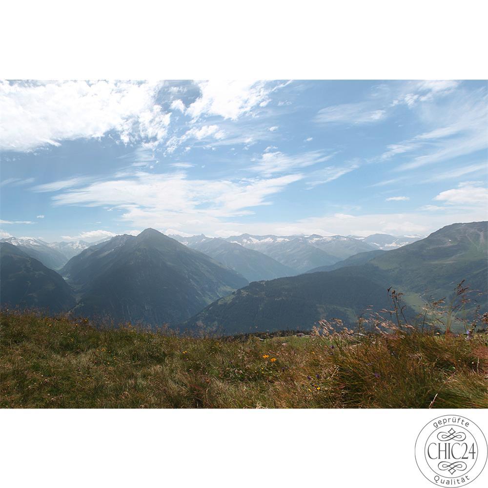 raumbilder tapeten austrian mountains view 1 chic24. Black Bedroom Furniture Sets. Home Design Ideas