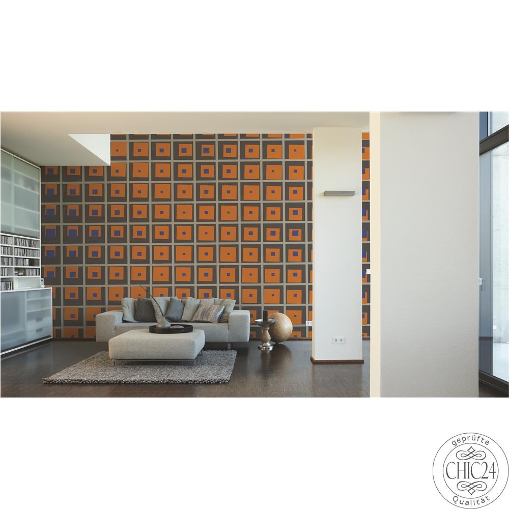 raumbilder tapeten big x chic24 vintage m bel und. Black Bedroom Furniture Sets. Home Design Ideas