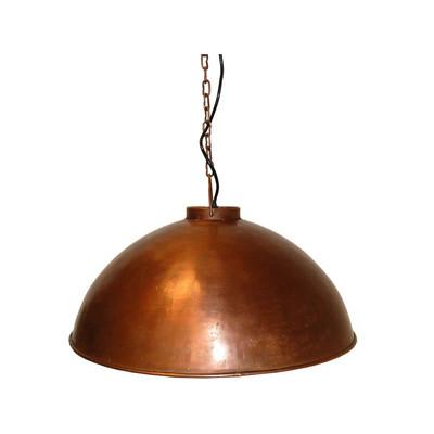 fabriklampe industrie stil kupfer 52cm chic24 vintage m bel und industriedesign lampen. Black Bedroom Furniture Sets. Home Design Ideas