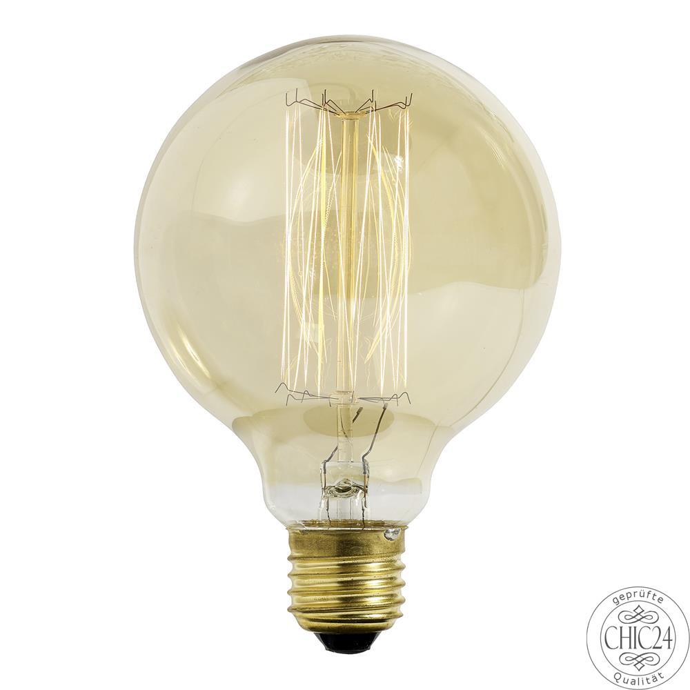 edison gl hbirne vintage ball small 60 watt chic24. Black Bedroom Furniture Sets. Home Design Ideas