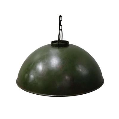 deckenlampe antik gelb im fabrikstil chic24 vintage. Black Bedroom Furniture Sets. Home Design Ideas