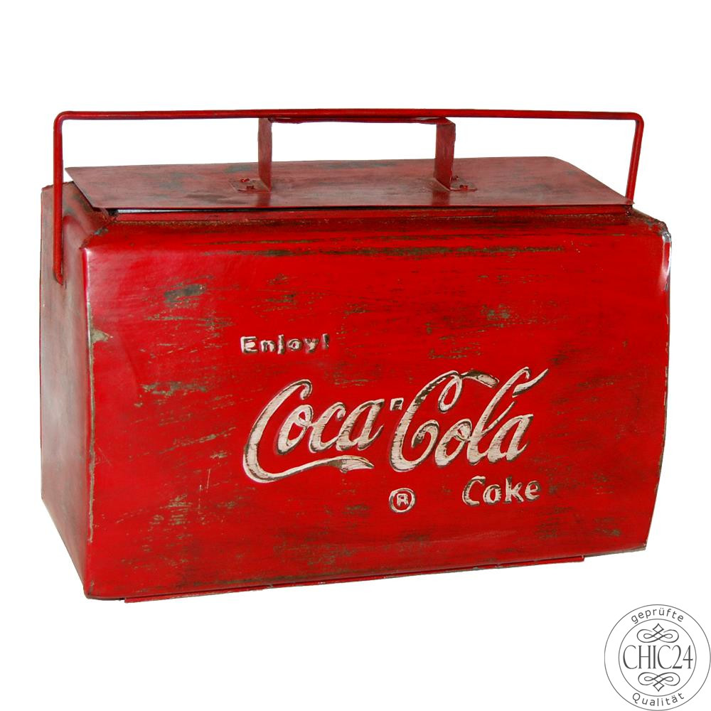 originale coca cola k hlbox im vintage look chic24 vintage m bel und industriedesign lampen. Black Bedroom Furniture Sets. Home Design Ideas